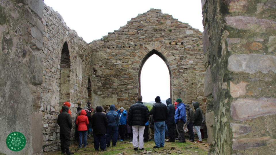 Exploring St Columba's Church Straid Clonmany ~Lands Of Eogain Festival, Inishowen