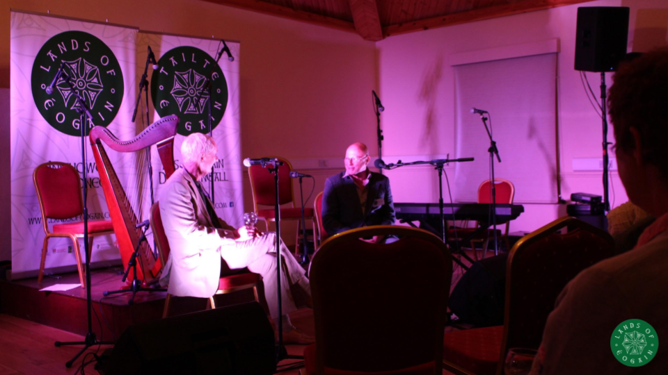Colm O'Brien and Brian Lacey At The Lands Of Eogain Festival ~ Inishowen, Donegal