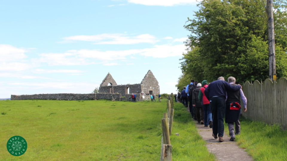 Lands Of Eogain Outing to Cloncha Monastic Site ~ Inishowen, Donegal